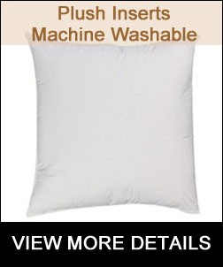 Machine Washable Pillow Insert