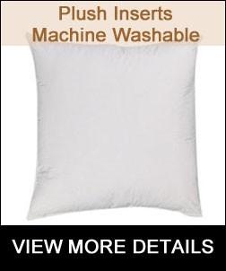 Machine Washable Pillow Insert